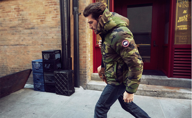 veste canada goose homme camouflage